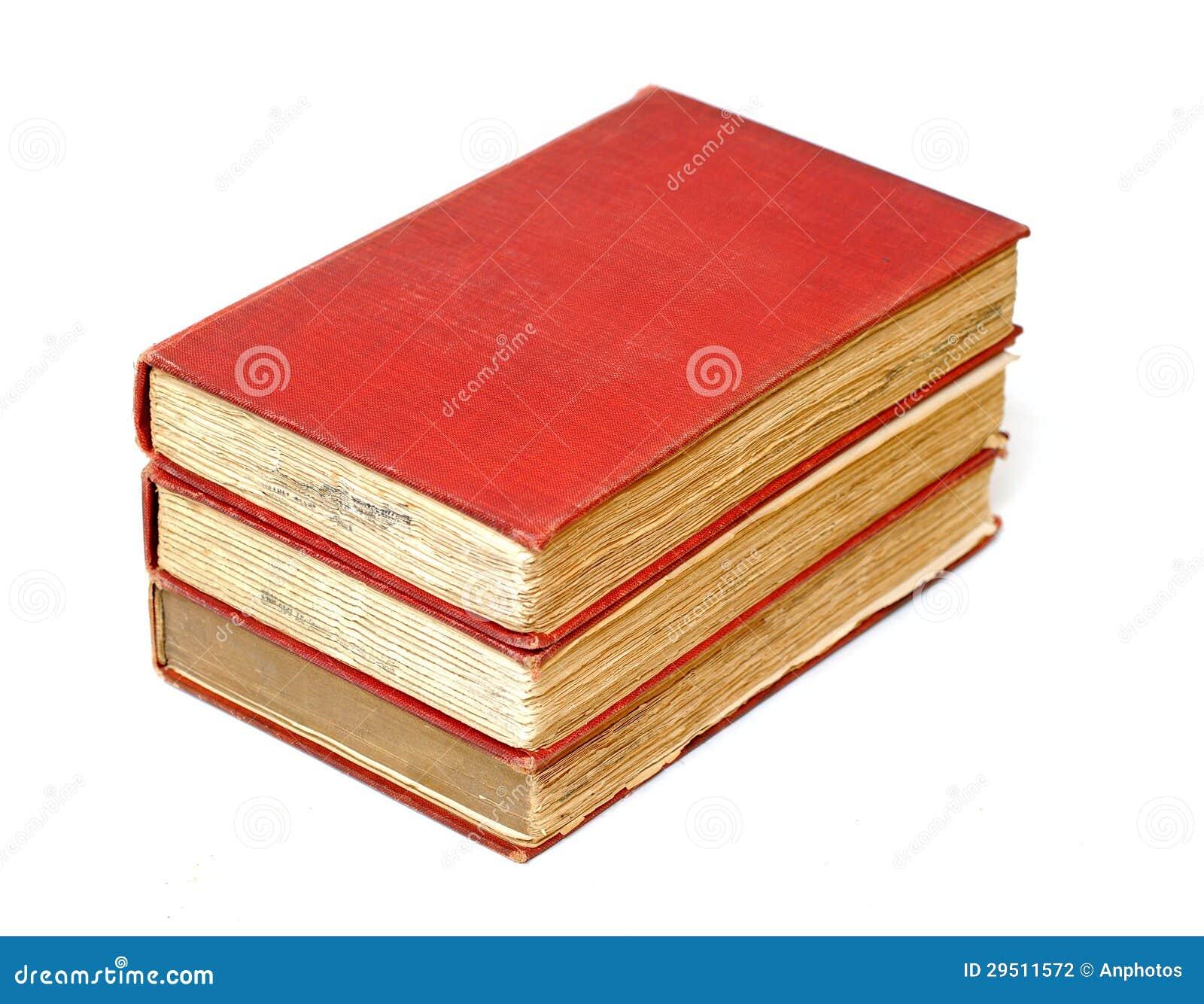 Drie antieke boeken