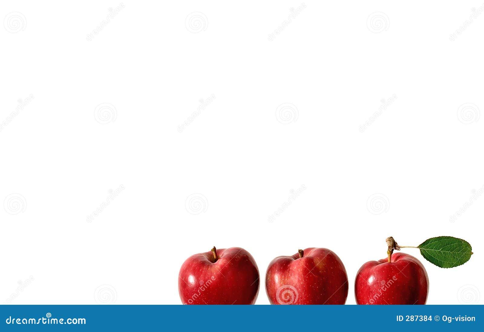 Drie appelen