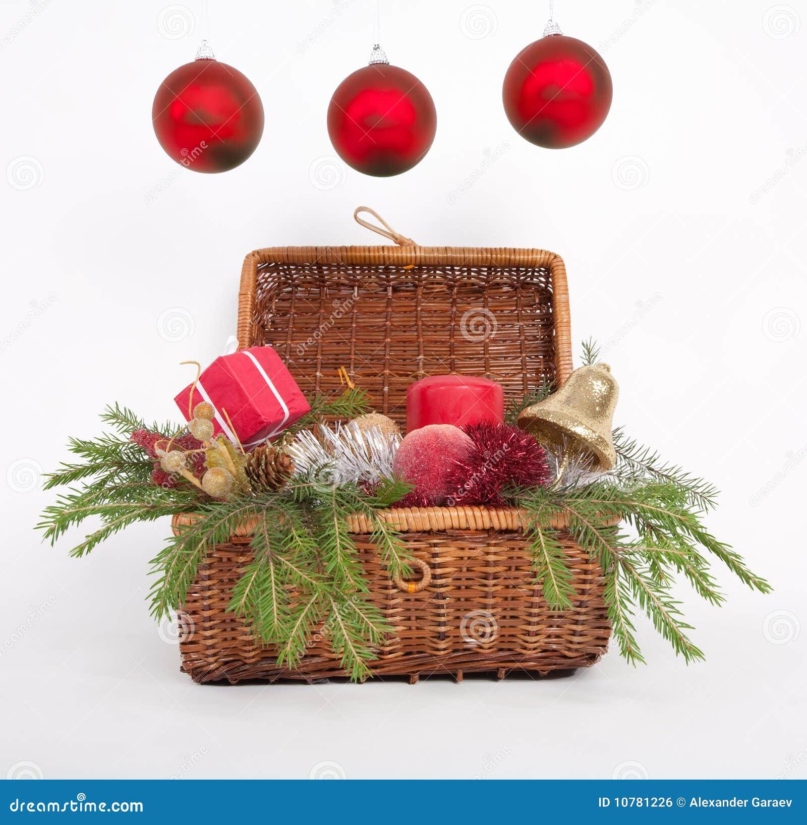 Drie ballen van Kerstmis