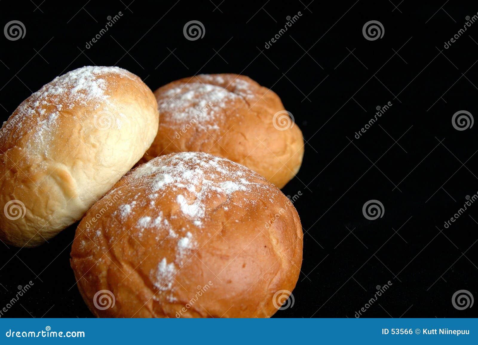 Drie broodjes