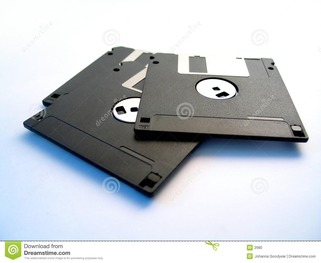 Drie diskettes
