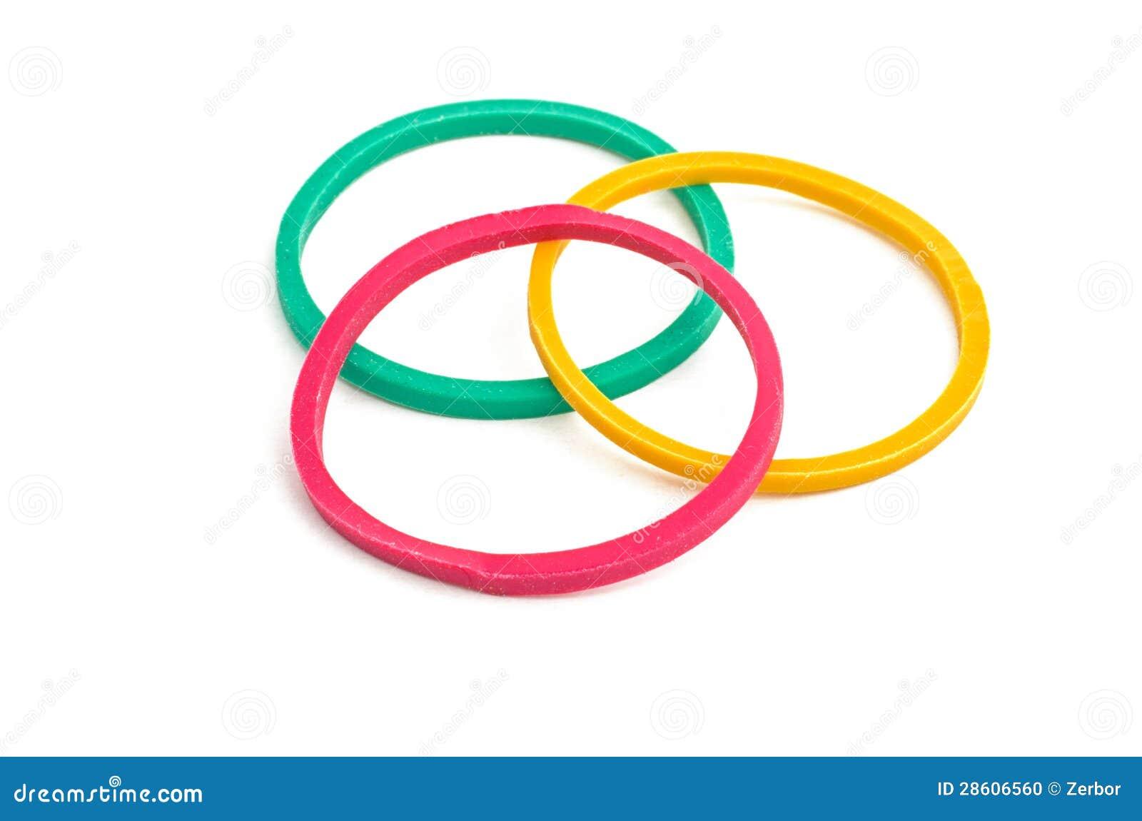 Drie elastiekjes