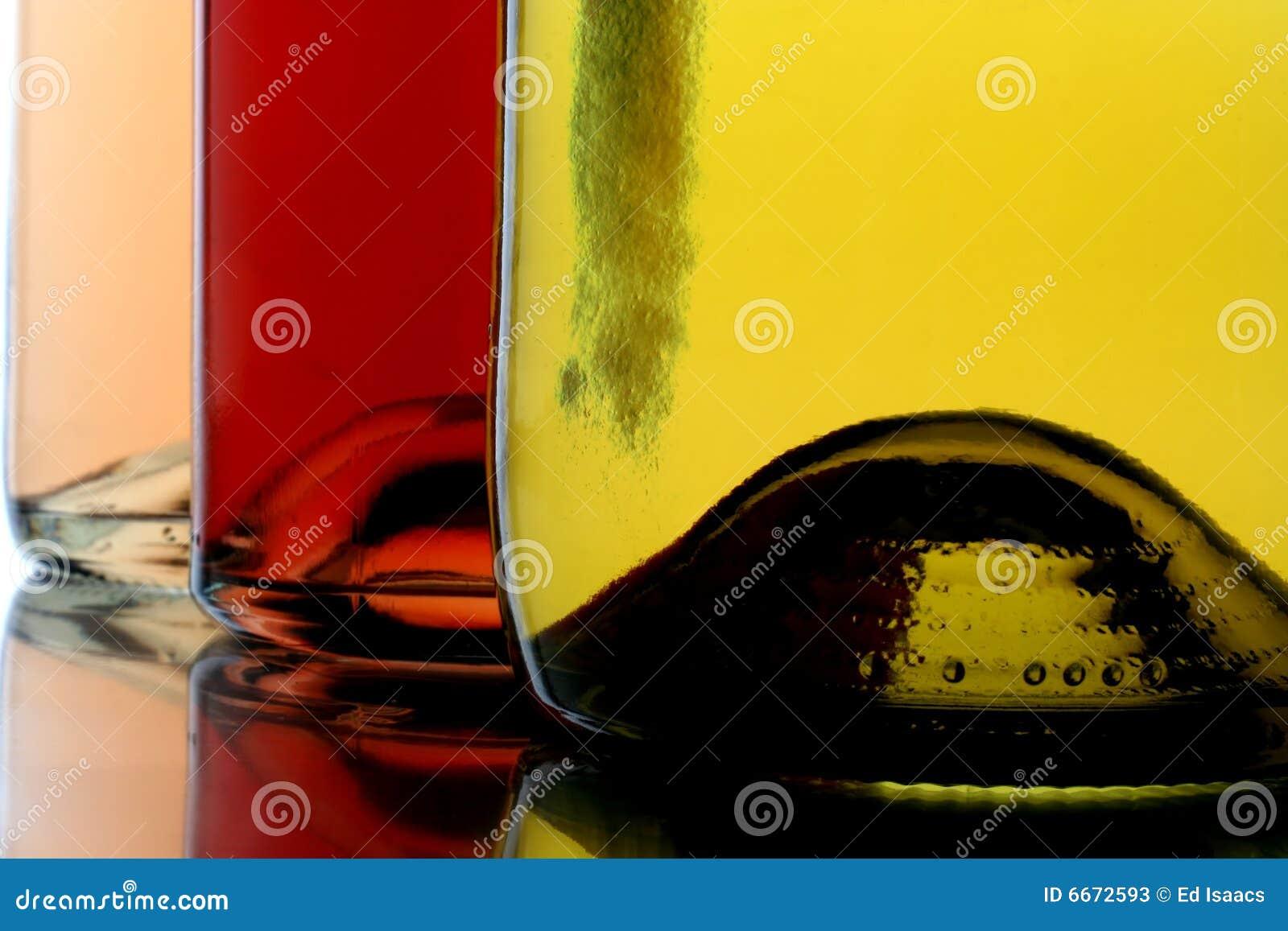 Drie Flessen van de Wijn