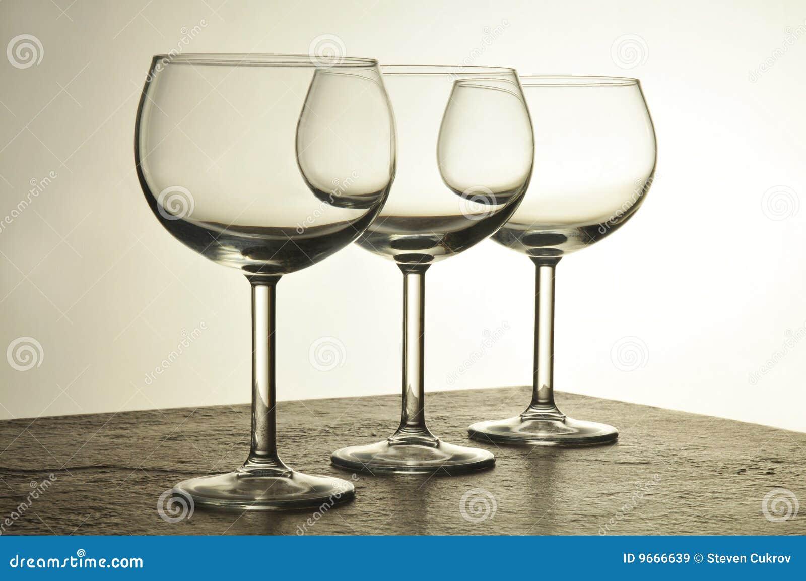 Drie Glazen van de Wijn