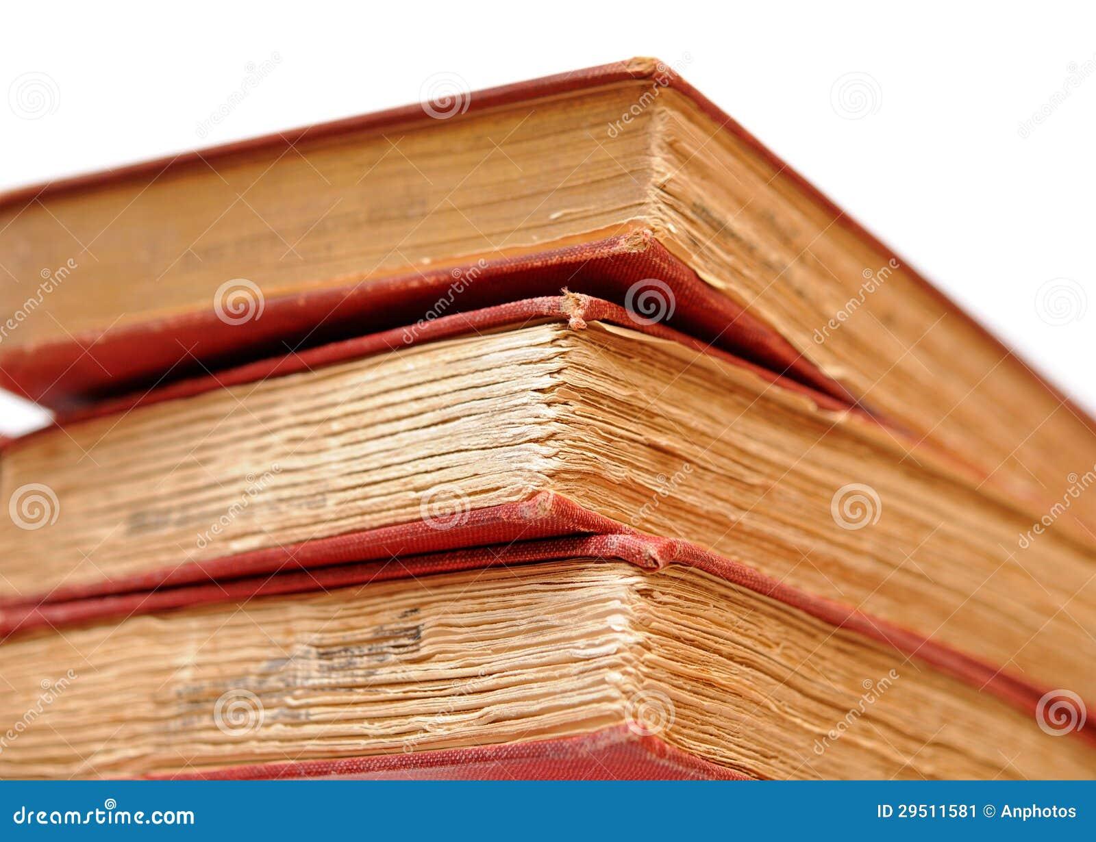 Drie oude boeken