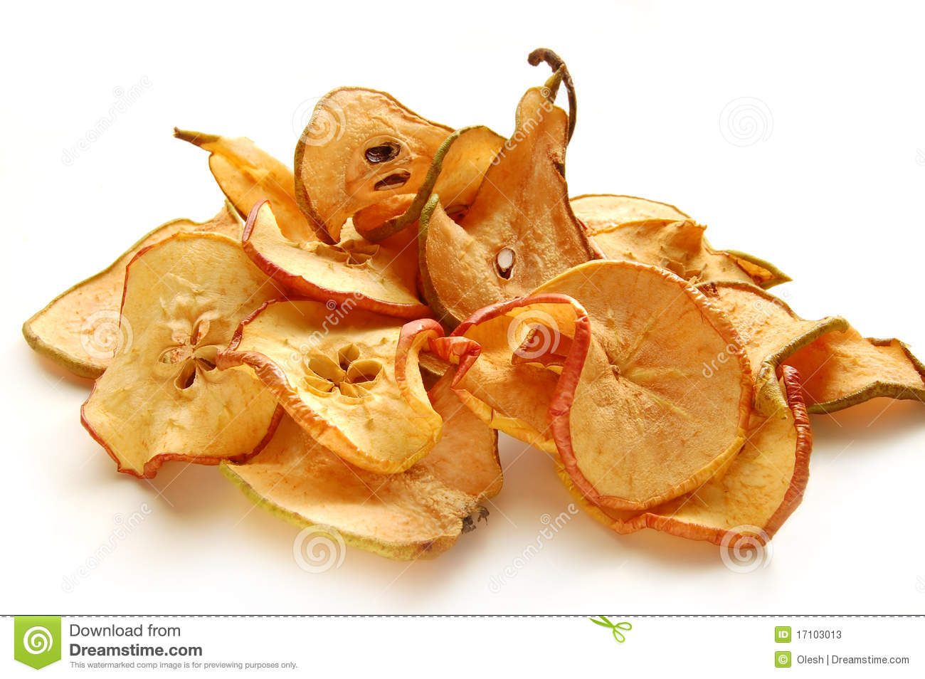 Dried Apples And Pears Stock Photos - Image: 17103013