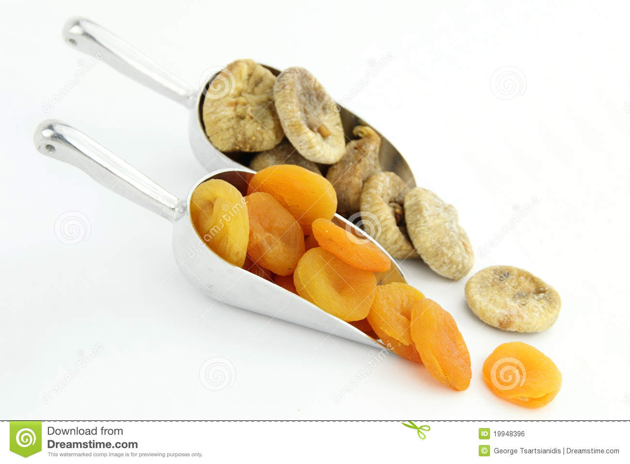 Dried Apricots And Figs Royalty Free Stock Image - Image: 19948396