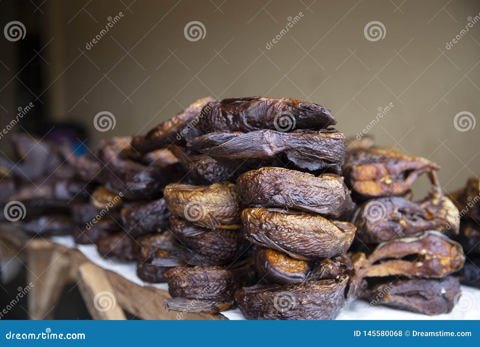 Dried Fish from Ghana Market