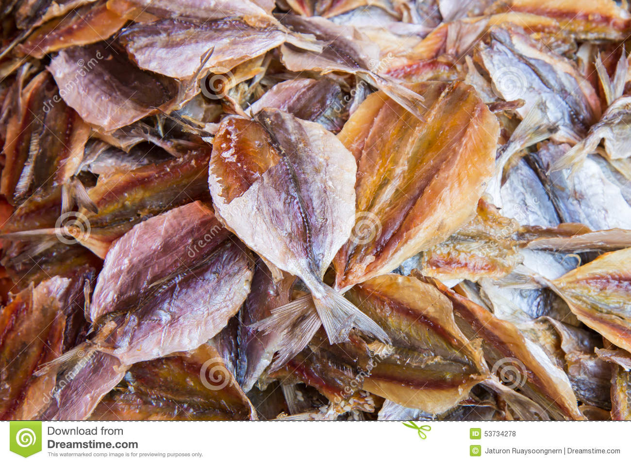 Dried fish for sale at market stock photo image 53734278 for Stock fish for sale