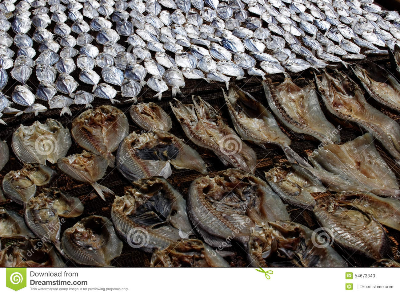 Dried fish stock photo 56008812 for Dried fish philippines