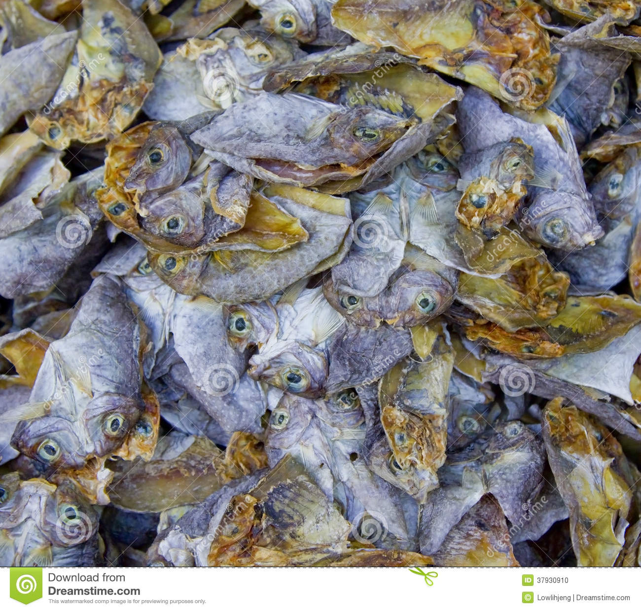 Dried fish stock photo image 37930910 for Dried fish philippines