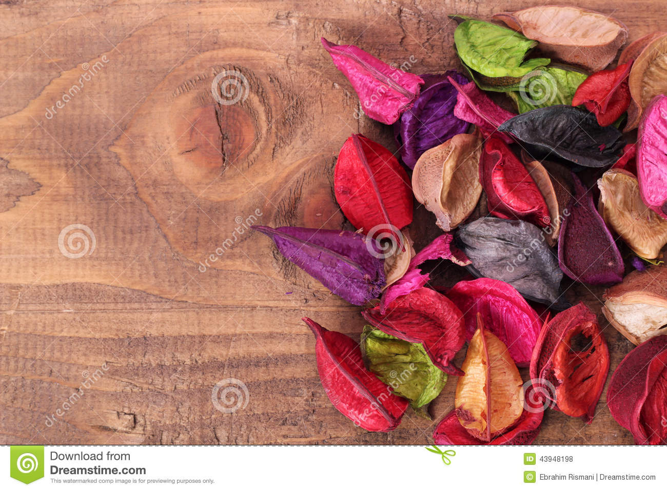 Download Dried Flowers stock photo. Image of dead, fragrance, christmas - 43948198