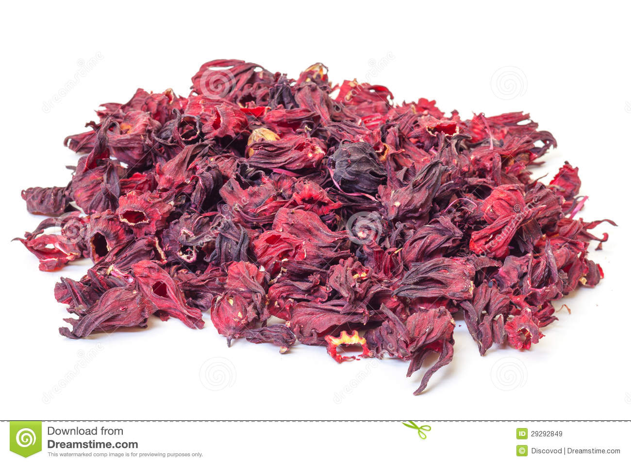 Dried Hibiscus Flowers Stock Image Image Of Natural 29292849