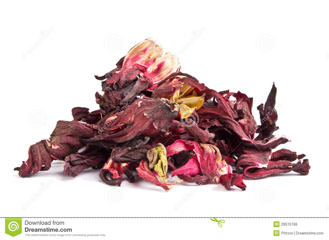 Dried Hibiscus Leaves Stock Photo Image Of Petals Hibiscus 29515766