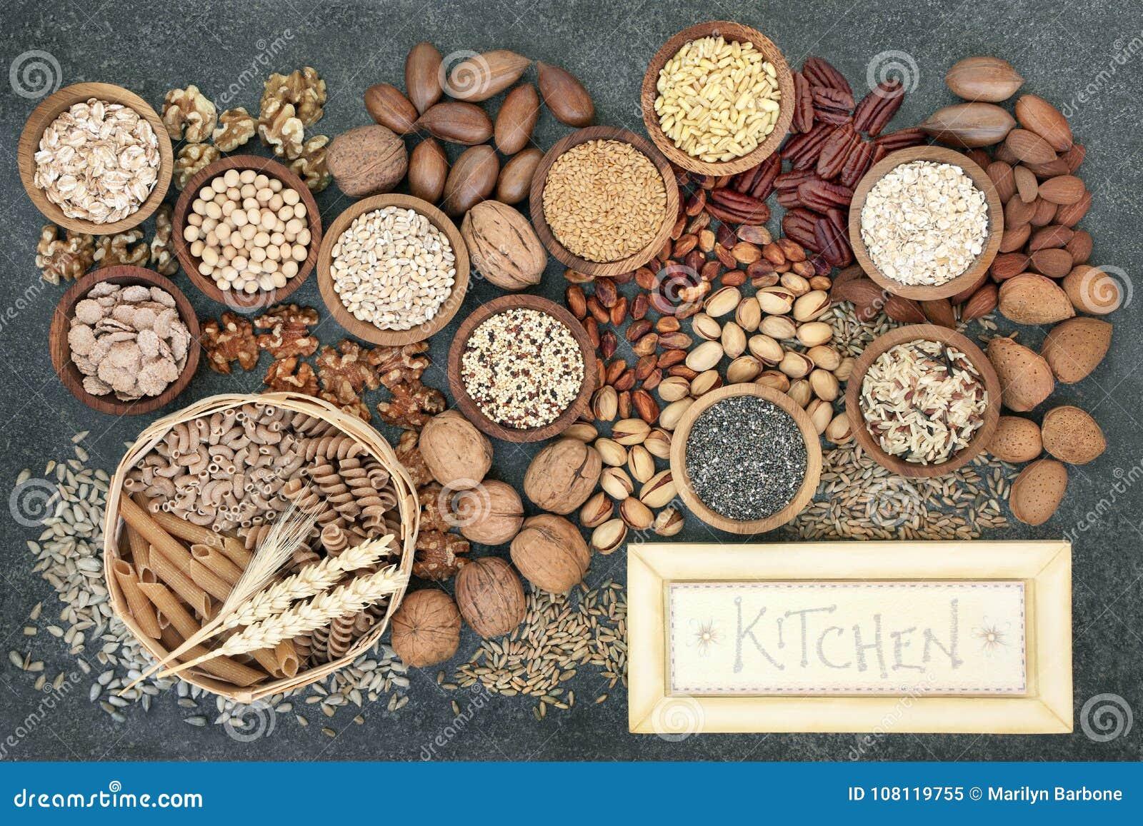 Dried High Fiber Health Food