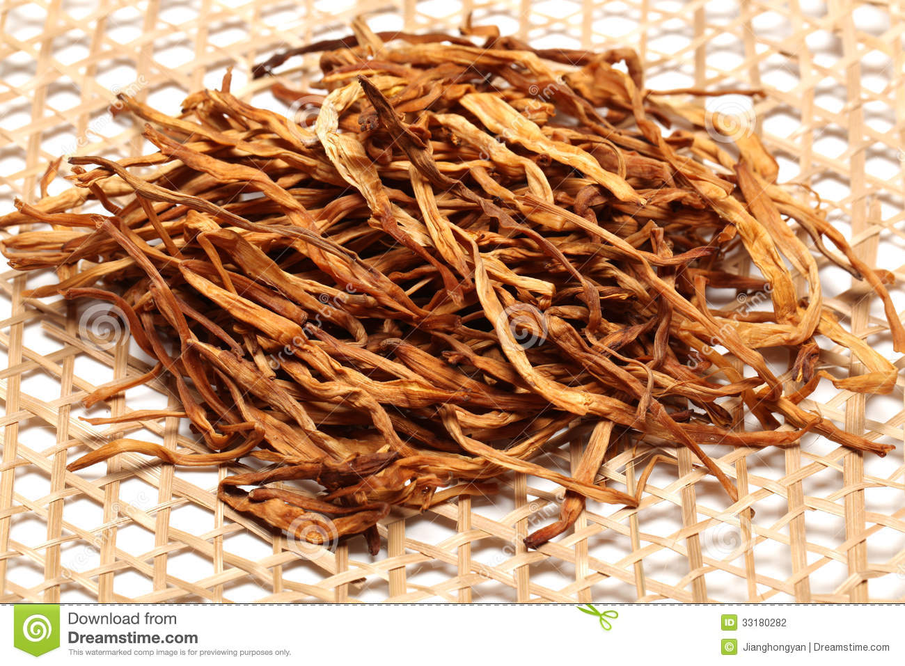 how to prepare dried lily flower
