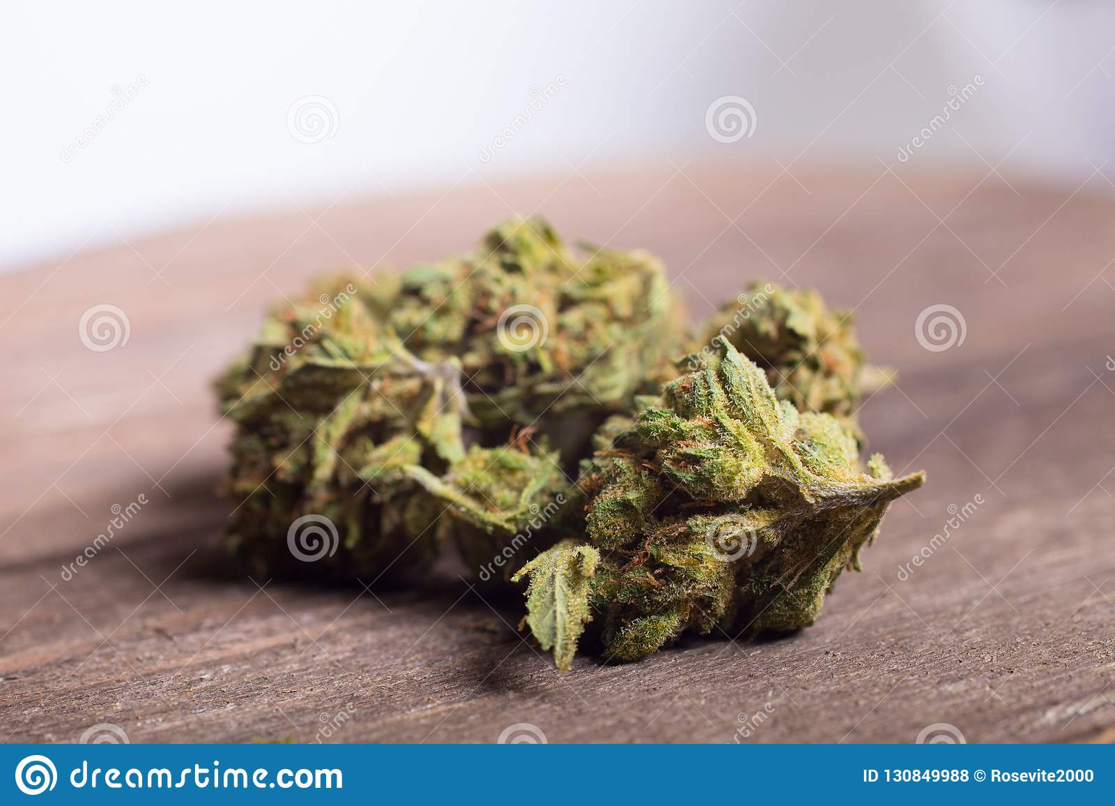 Dried Medical Marijuana 420 Or Cannabis Leaves Stock Photo - Image