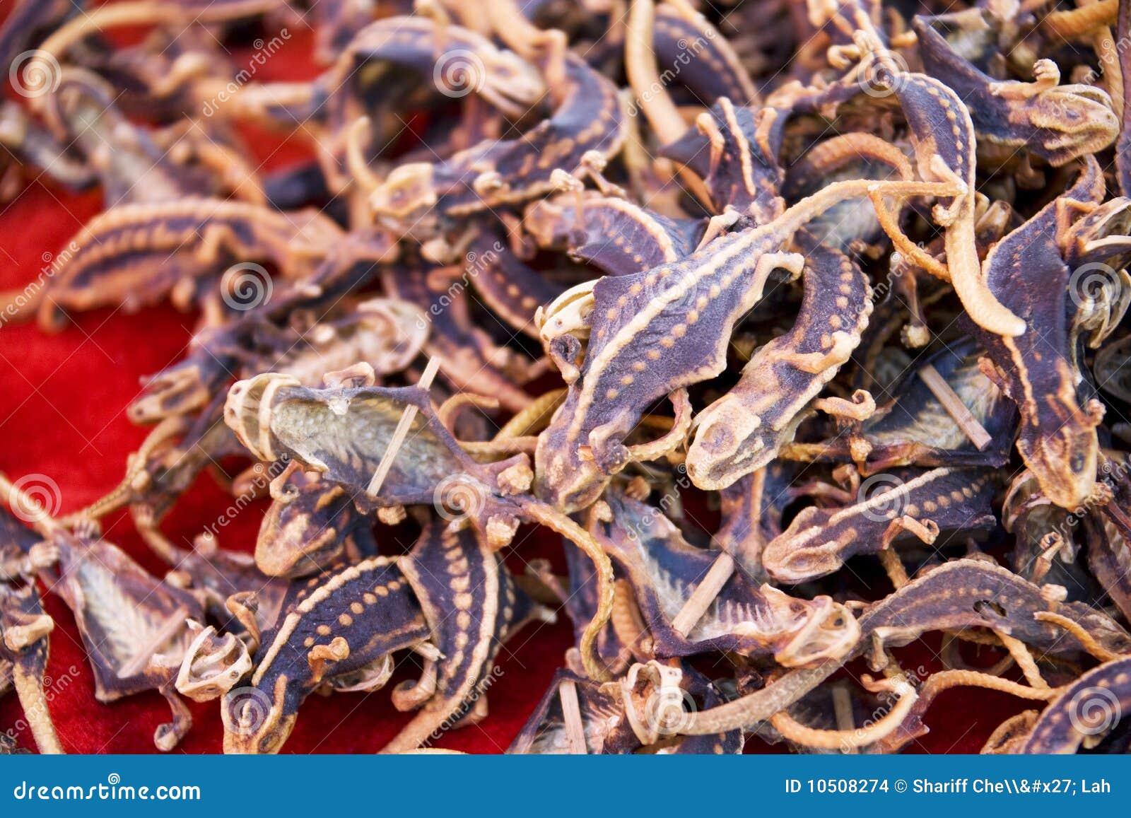 Dried Medicinal Lizards