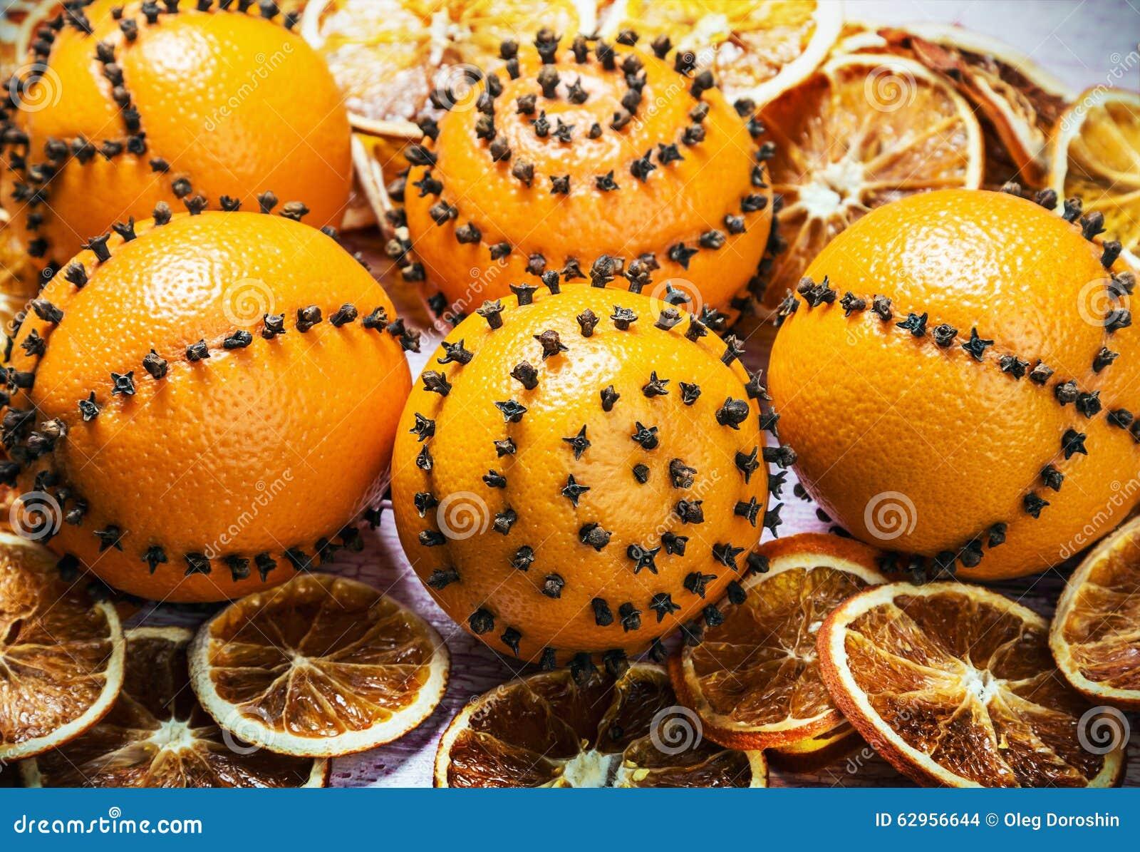 Decor Noel Oranges