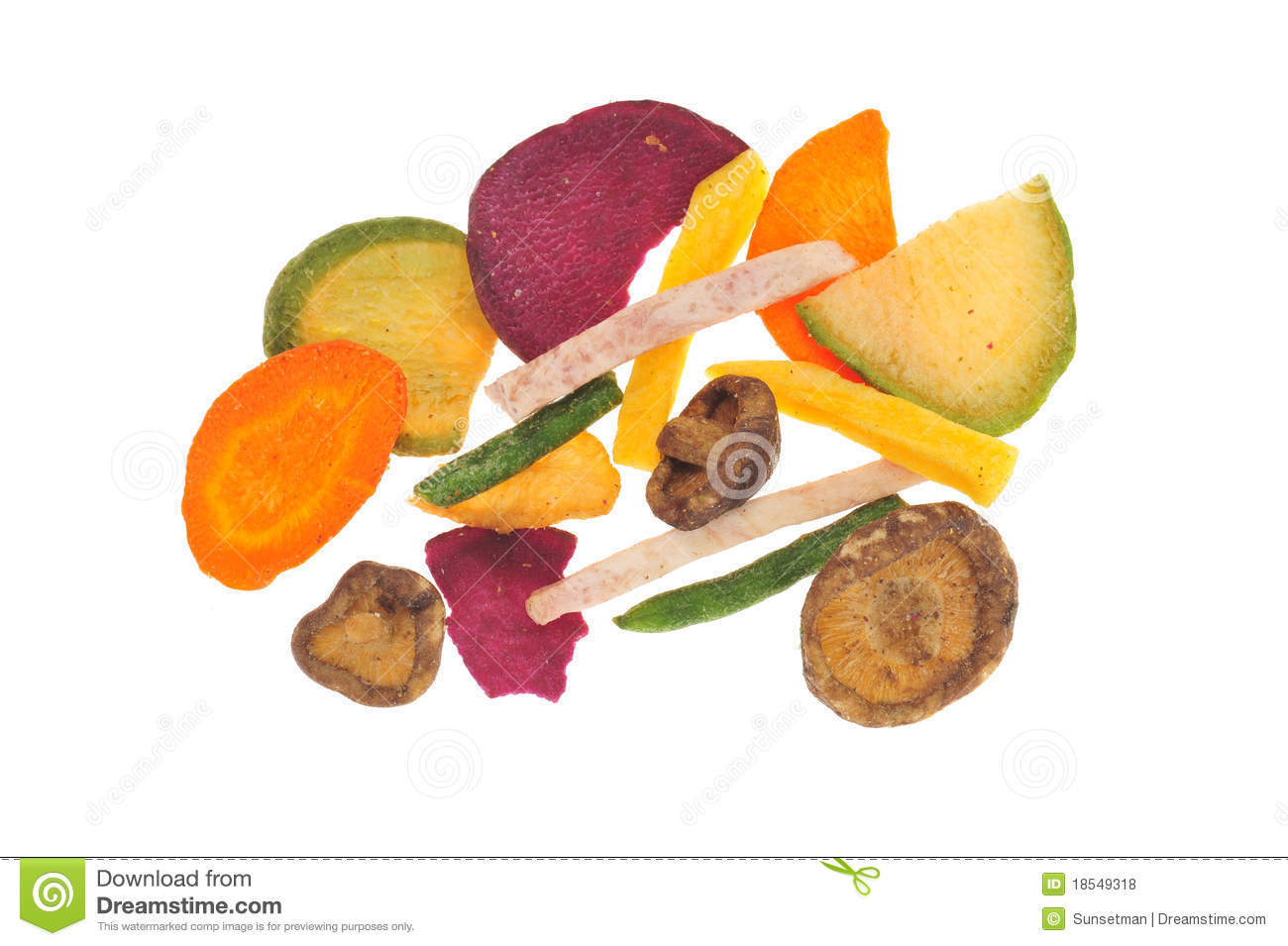 Dried Preserved Fruit Royalty Free Stock Photos - Image: 18549318