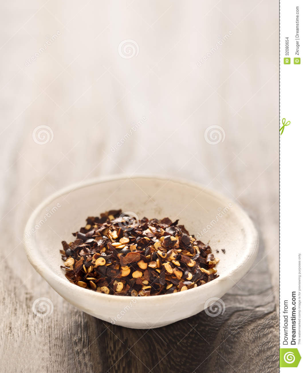 Dried red chili flakes stock images image 32080654 for Chili flakes