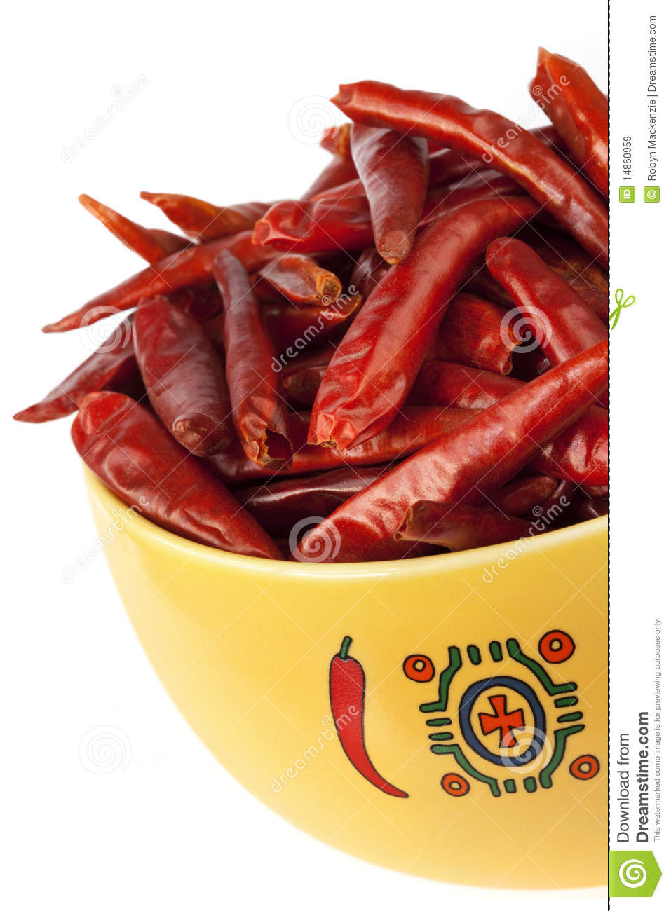 Dried Red Chillis