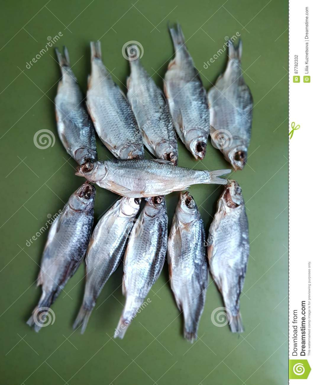 Dried roach best snack to beer stock photo image 87782332 for Cooking white fish