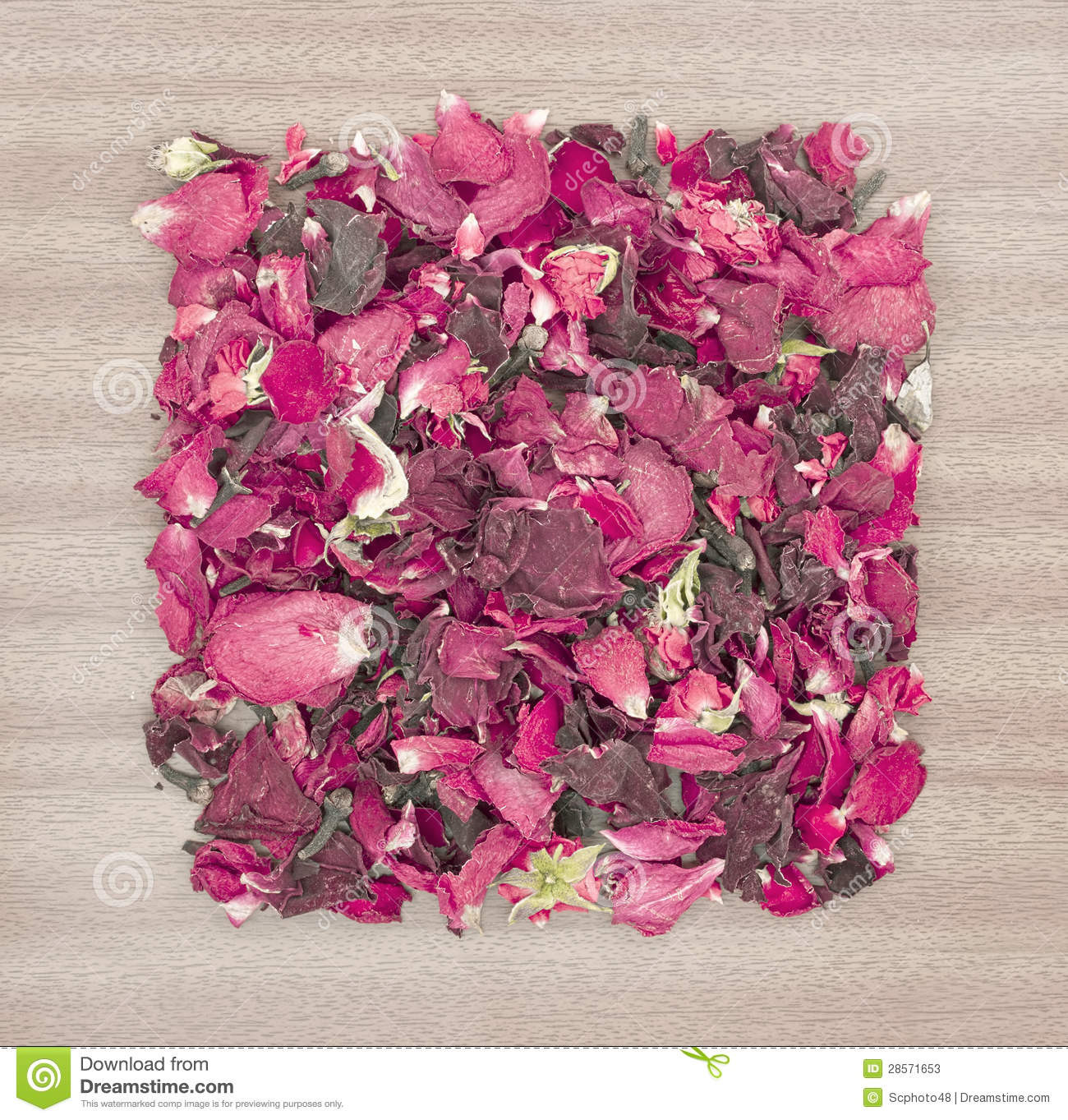 dried rose petal pot pourri stock photos image 28571653. Black Bedroom Furniture Sets. Home Design Ideas