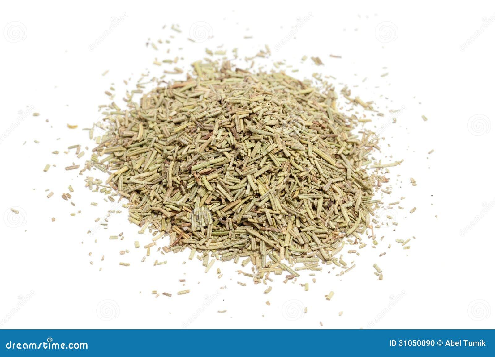 Dried Rosemary Stock Photo - Image: 31050090