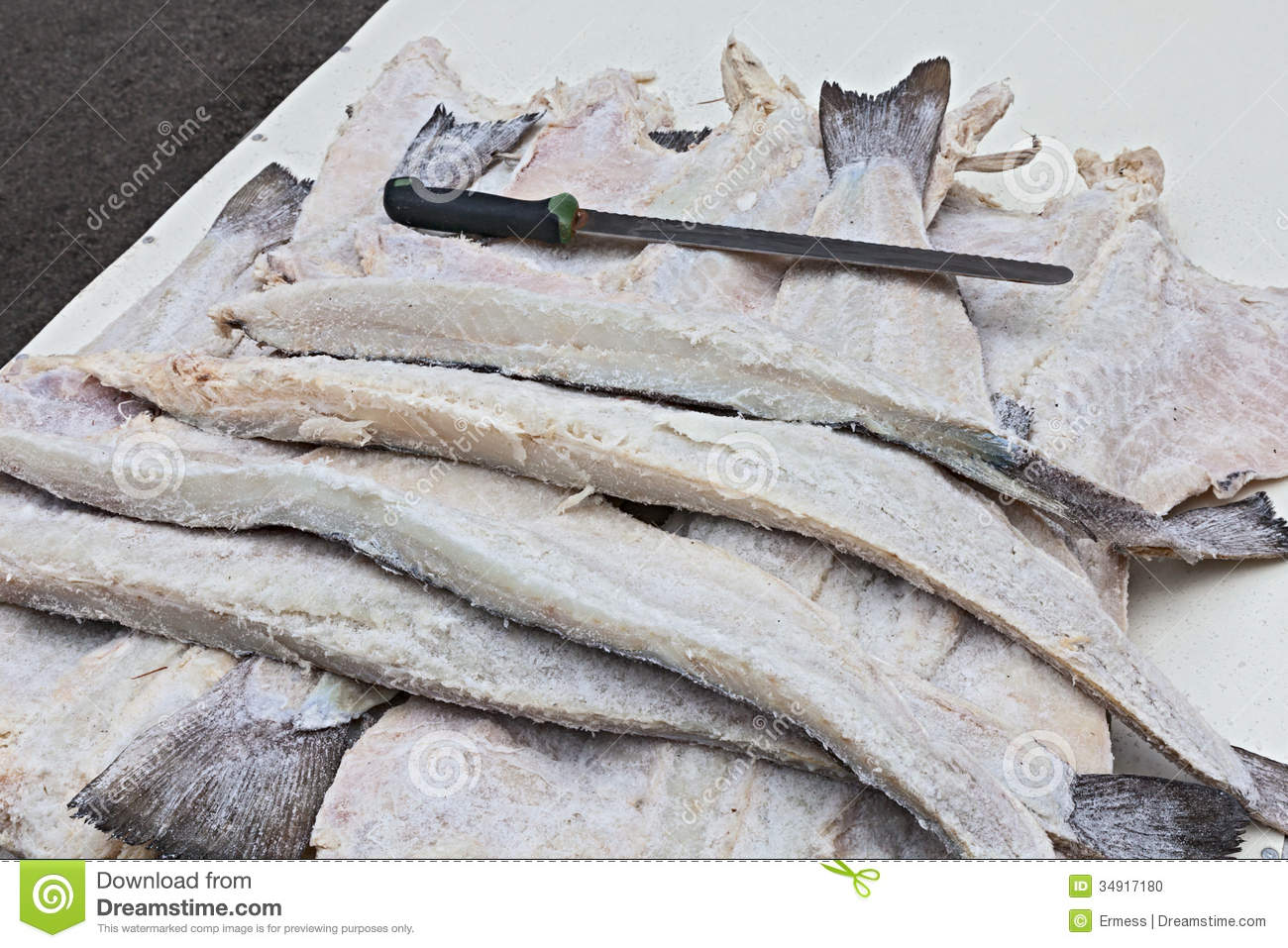 Dried salted cod stock photo image 34917180 for Dried salted fish