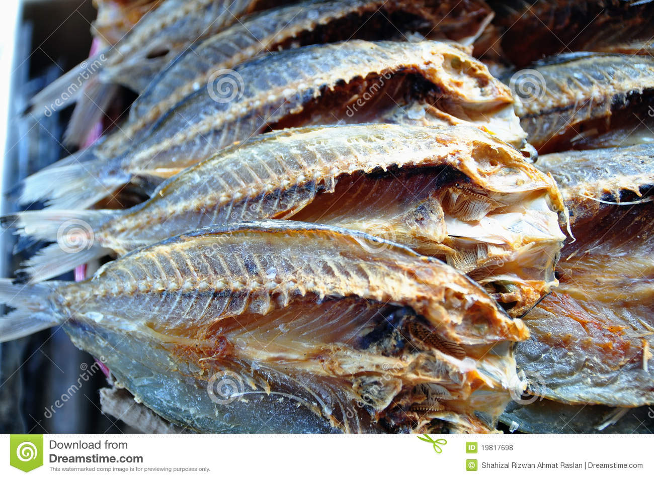 Dried salted fish royalty free stock photos image 19817698 for Dried salted fish