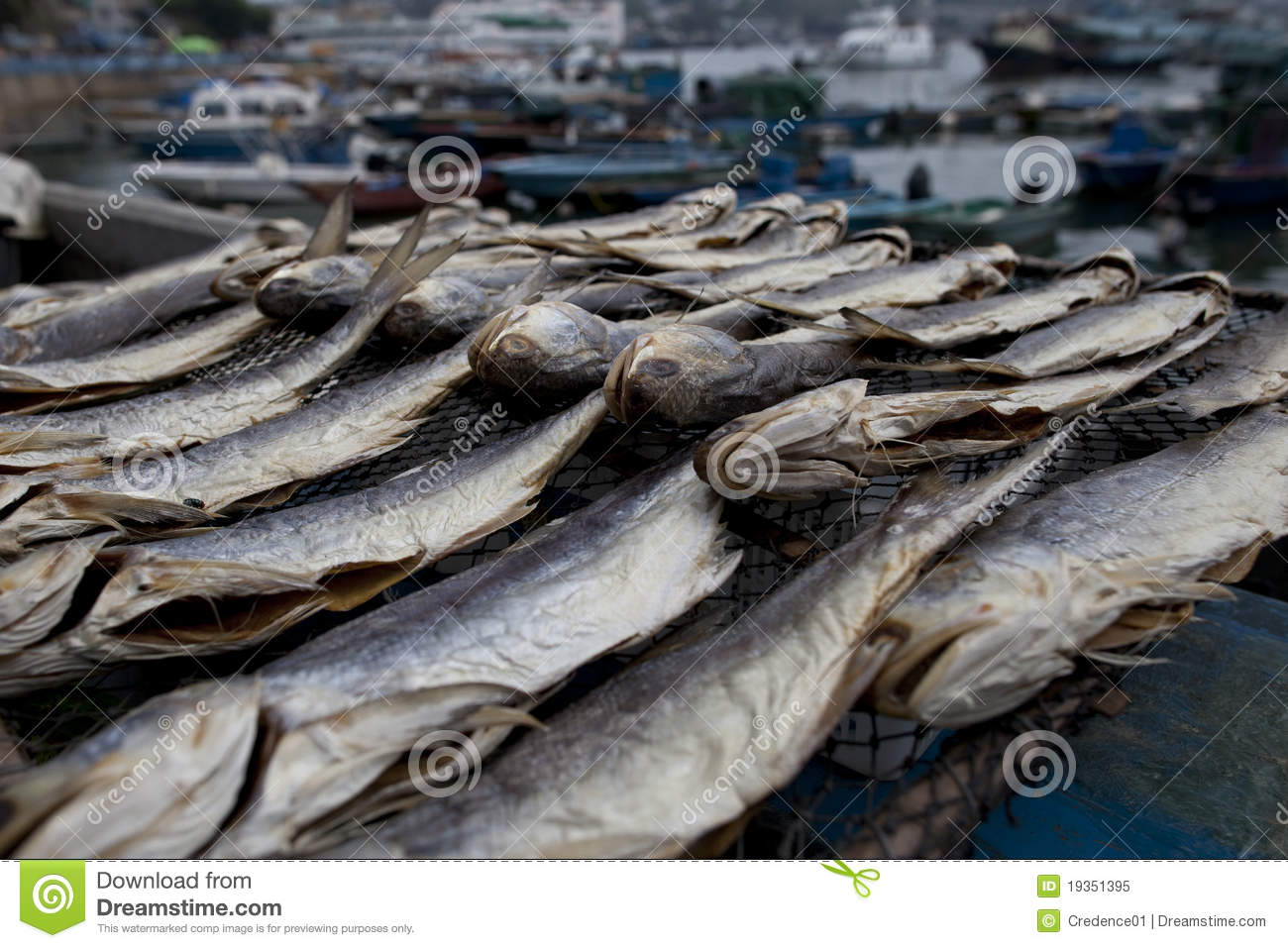 Dried salted fish display stock image image of chueng for Dried salted fish