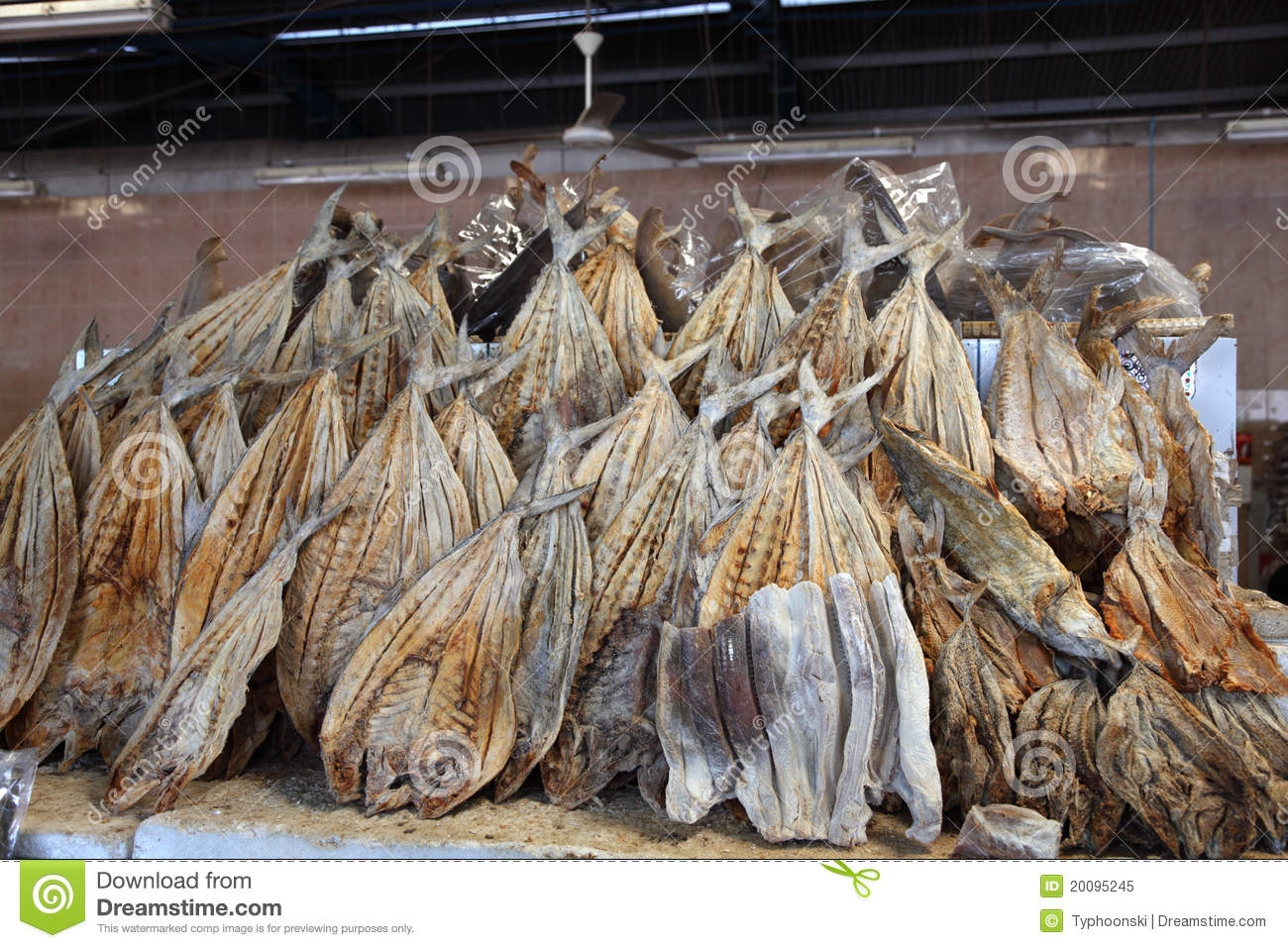 Dried salted fish at market royalty free stock photo for Dried salted fish