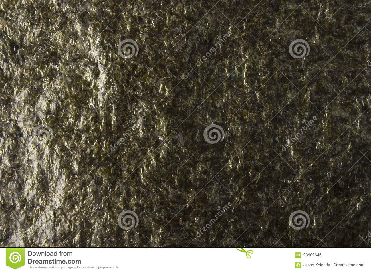 Dried Seaweed Sheets Texture Stock Photo Image Of Nori Paper