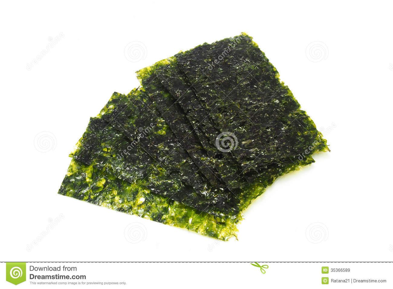 Dried Seaweed Royalty Free Stock Images - Image: 35366589