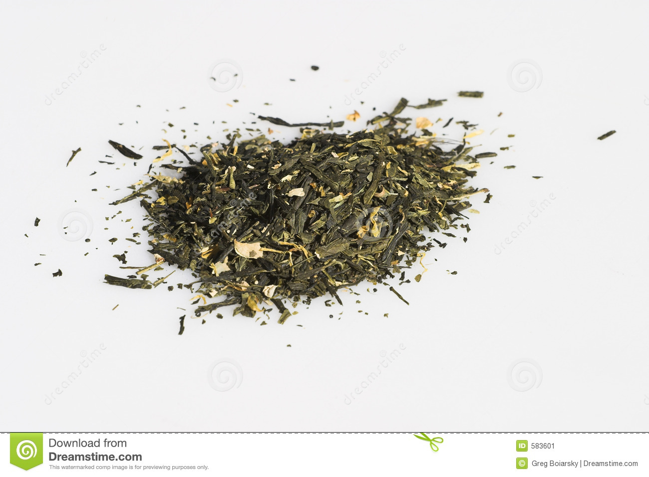 Dried teas