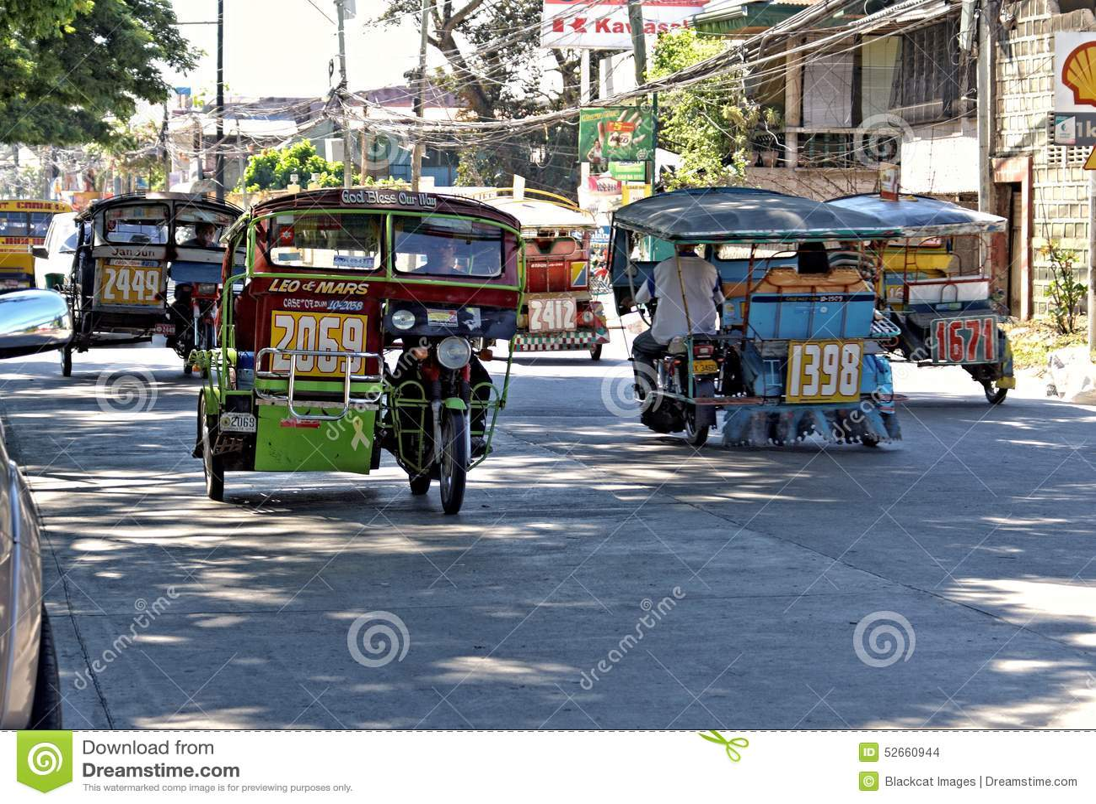 Driewielers, Filippijnen