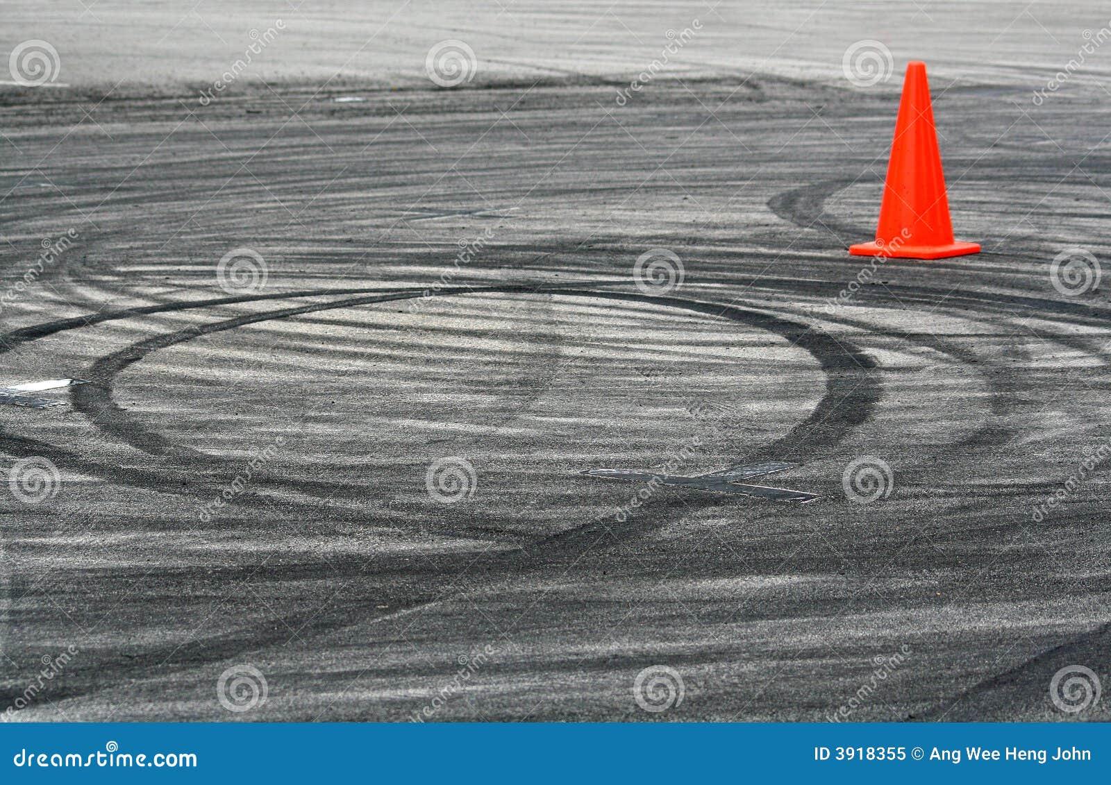 Drift marks