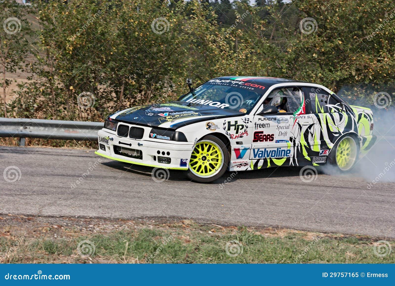 Drift racing car BMW