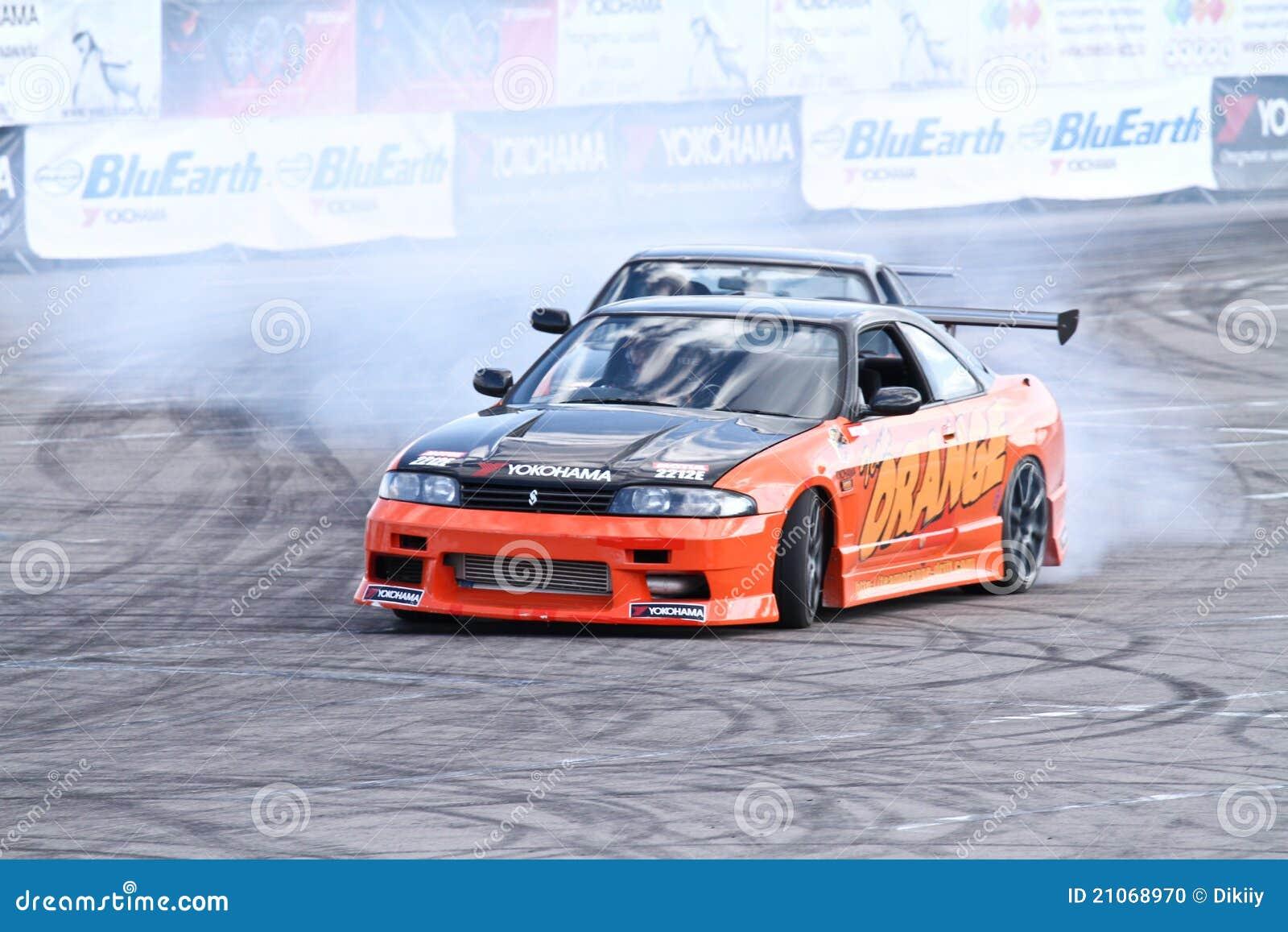Drift show Orange team