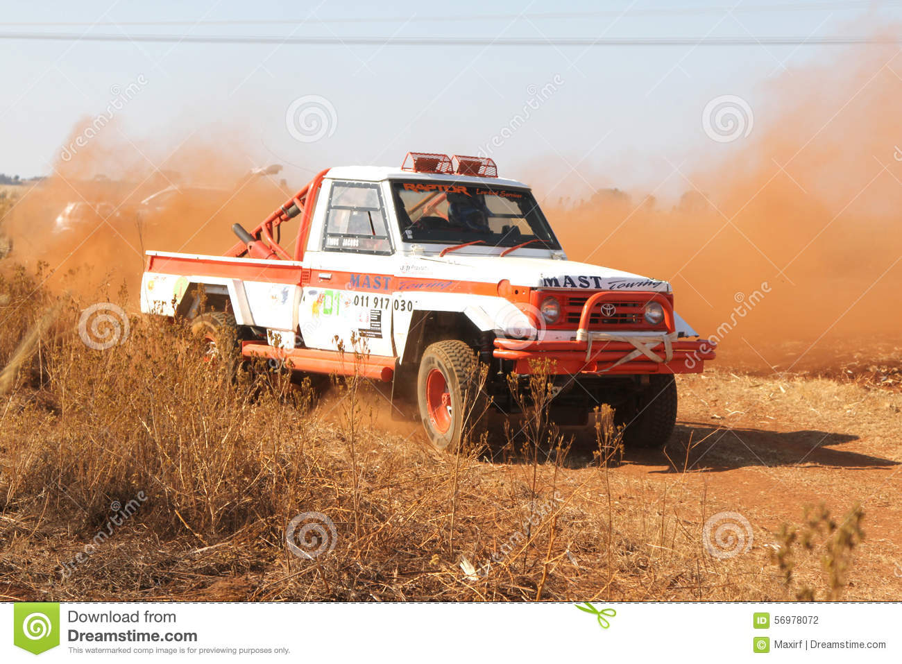 Toyota Landcruiser On The Titus Canyon Road Nov 2014 In