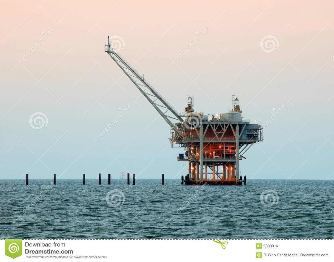 Download Drilling Rig stock photo. Image of drilling, barrel, natural - 3003016