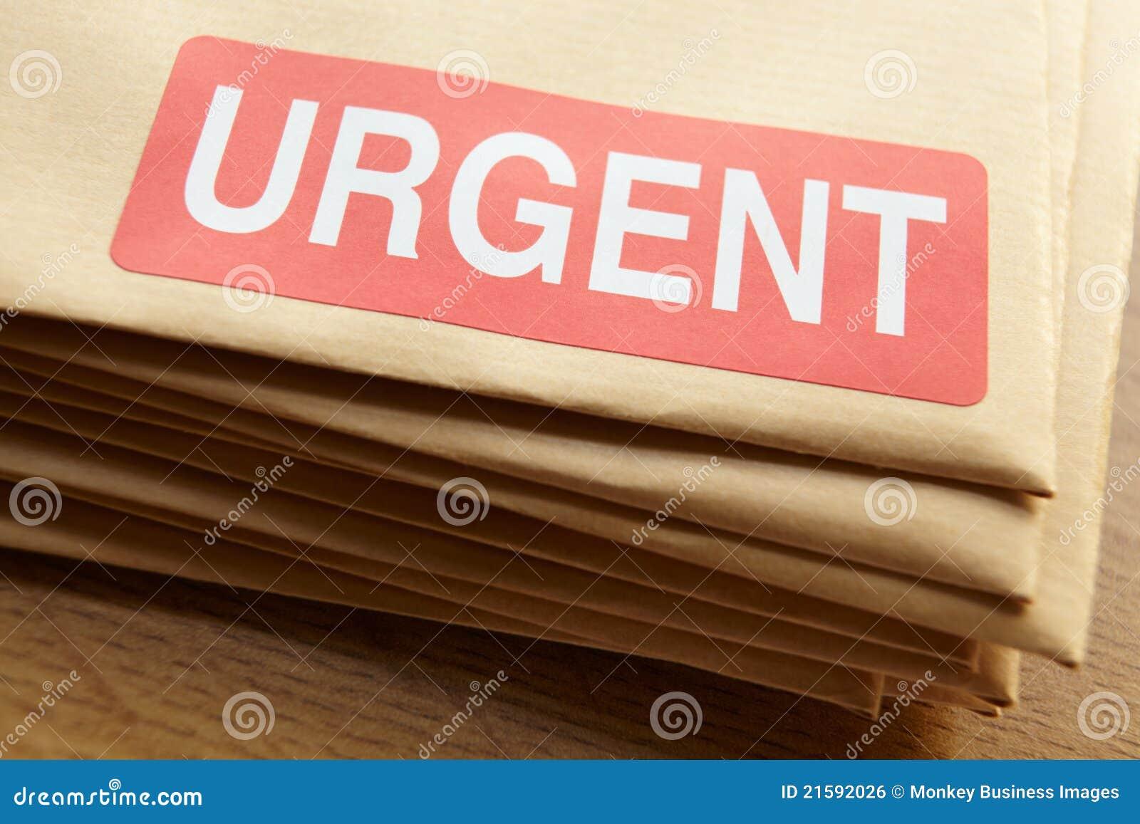 Dringende Dokumente für Abfertigung
