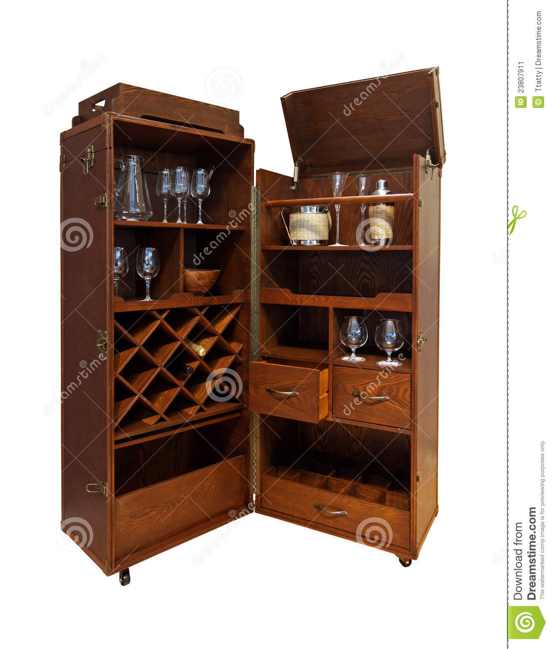 Home Bars For The Casual Drinkers: Drink Bar Home Stock Image