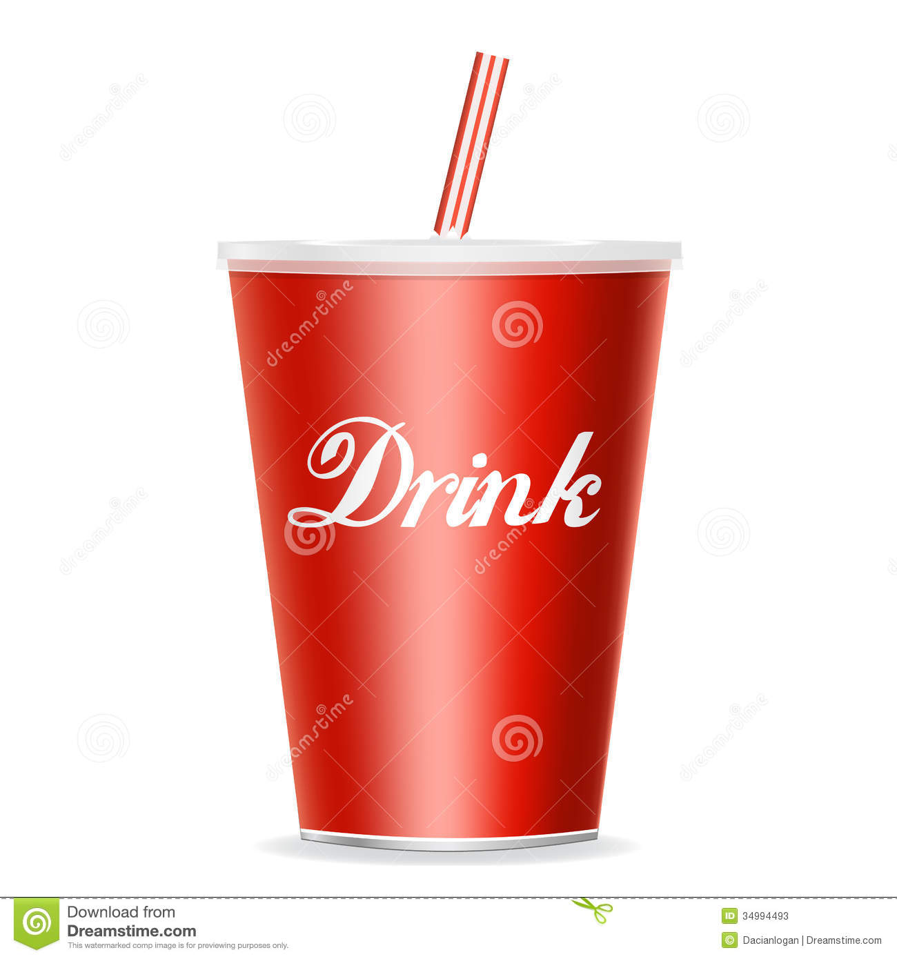 Soda Drinking Disposible Cups