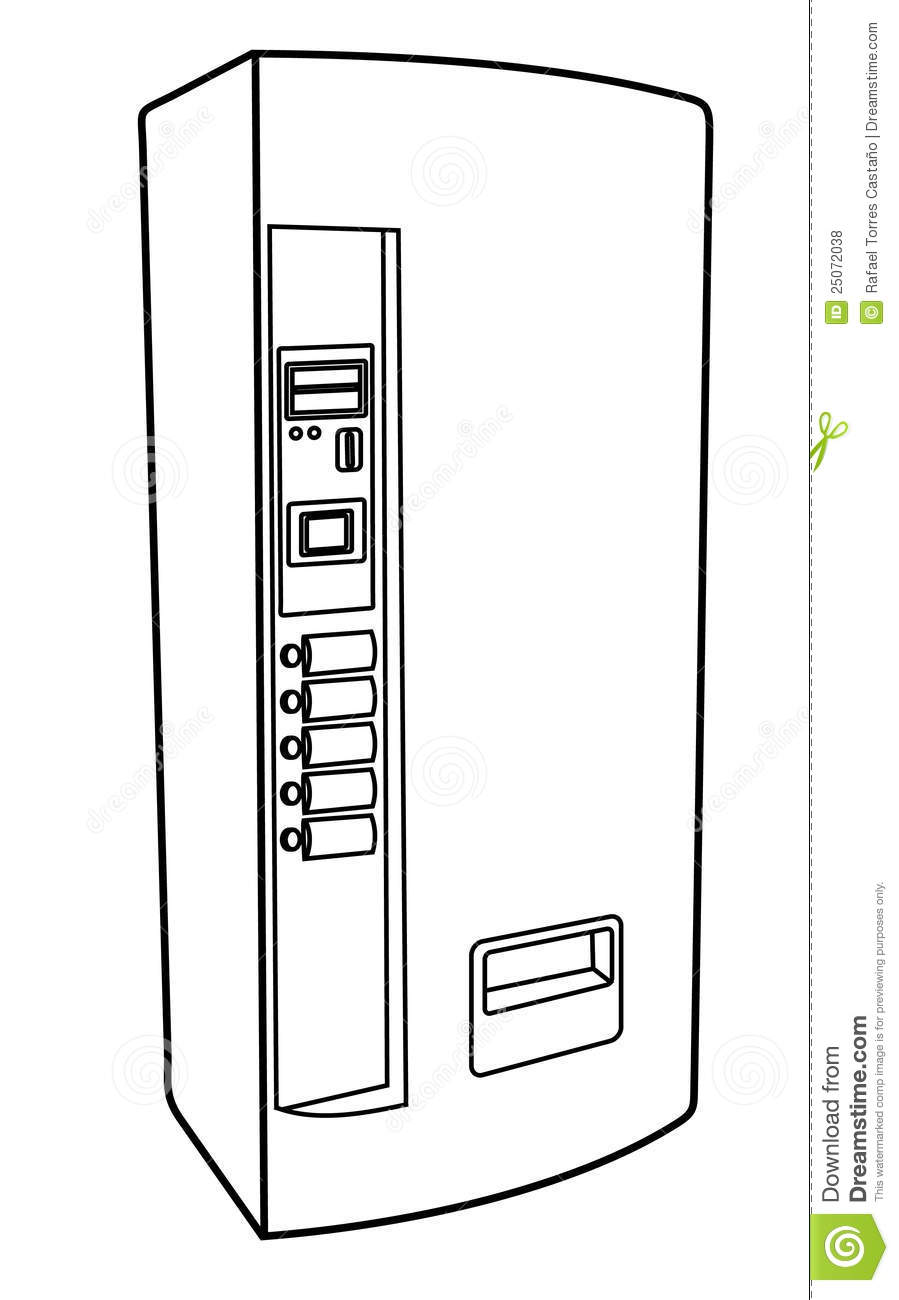 Coin Machine Diagram Electrical Wiring Circuits Gt Heathkit Cointrack Gd 1190 Metal Detector Schematic Drink Stock Vector Image Of Linear Drawing Tree Counting