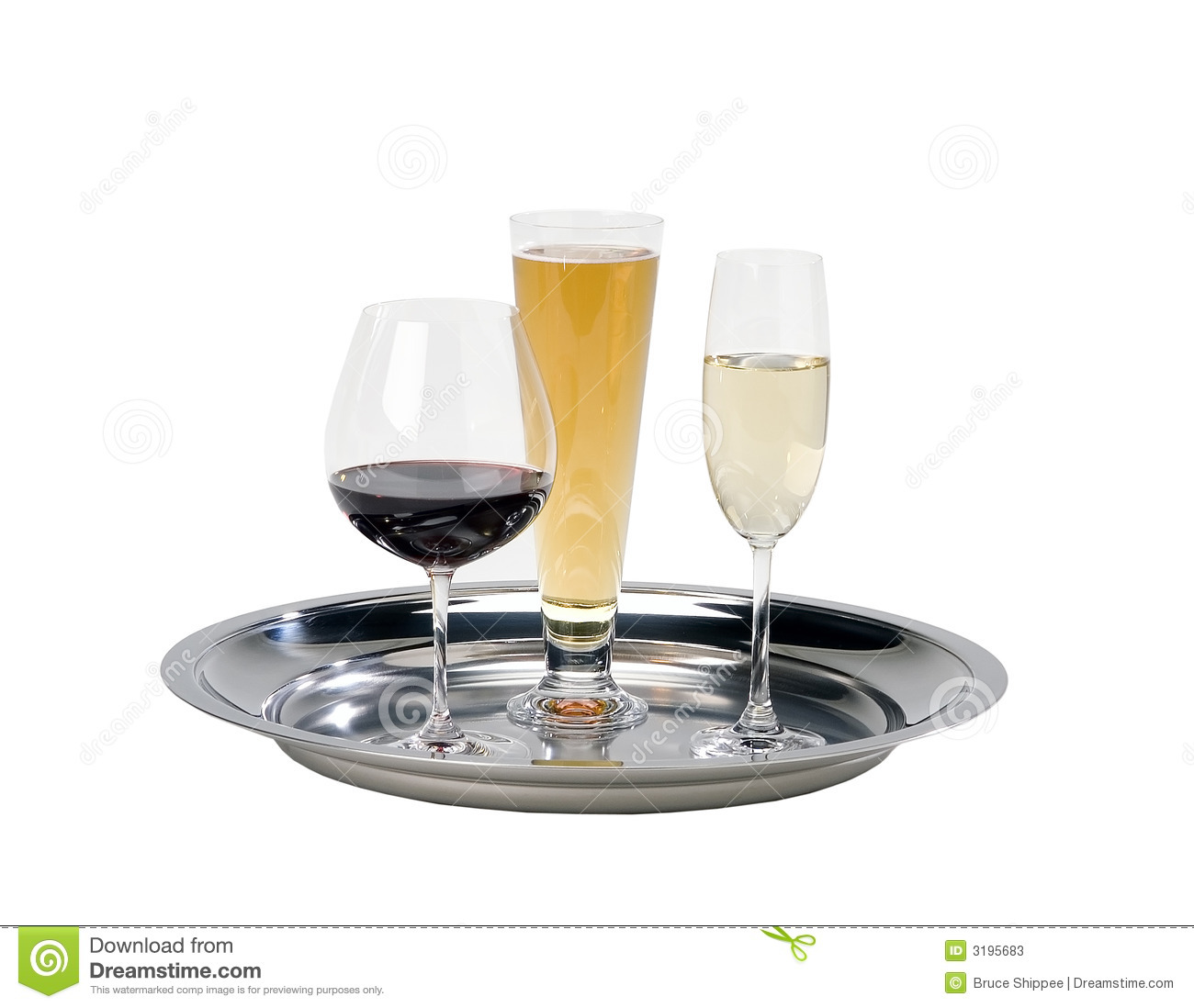S Drinks Serving Tray