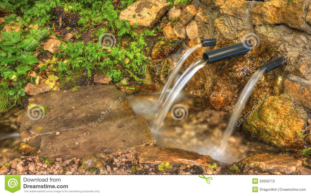 Drinkable Spring Water Stock Photography Image 32059712