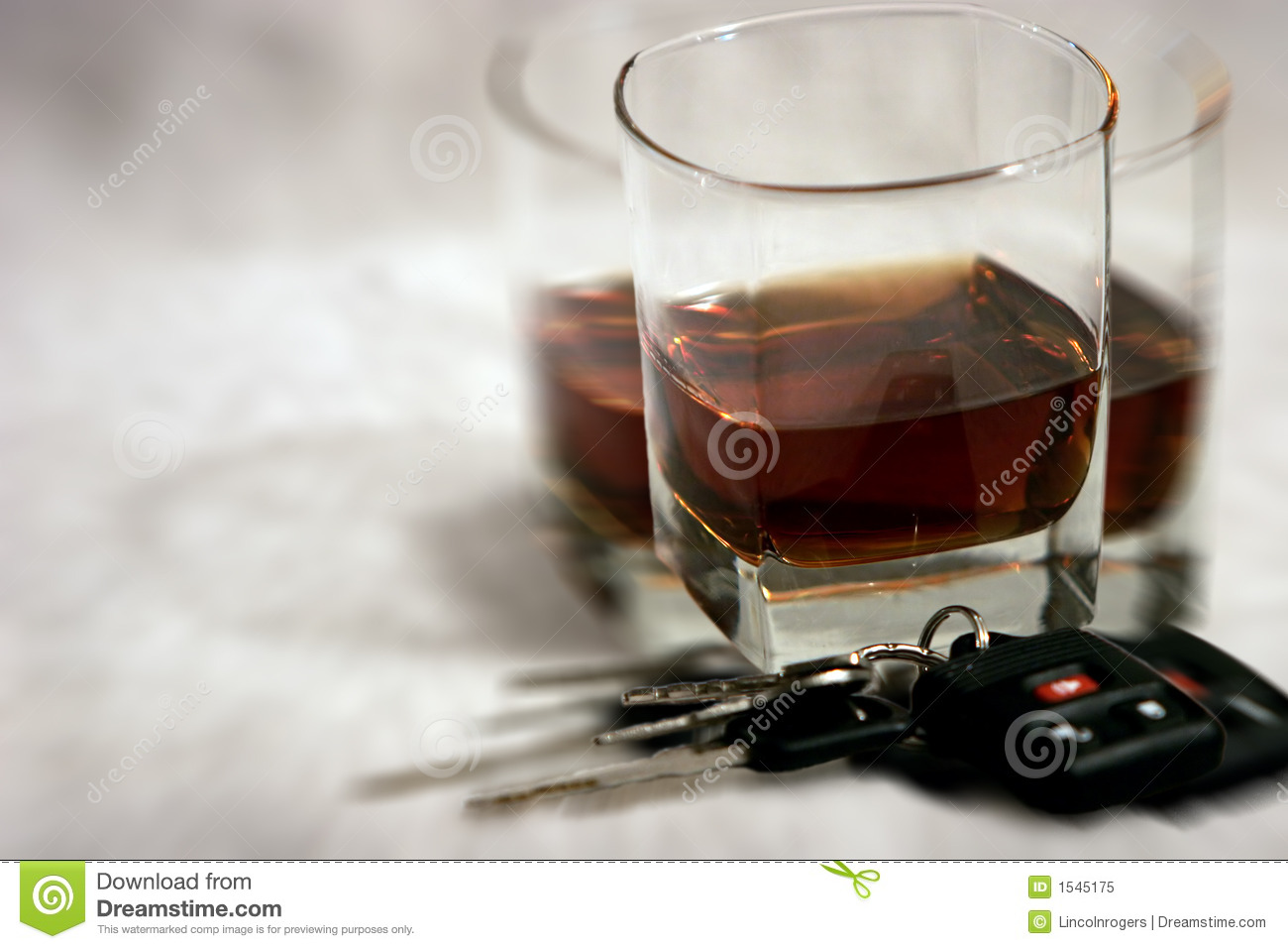 Drinking & Driving - Blurry Vision Royalty Free Stock ...