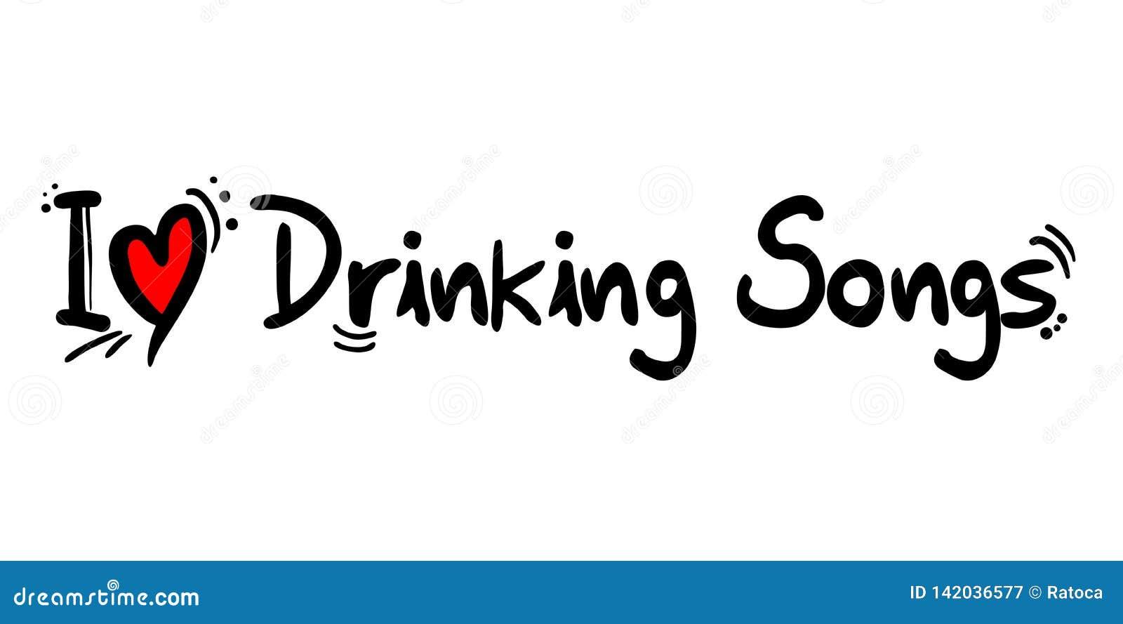 Drinking Songs Stock Illustrations – 6 Drinking Songs Stock